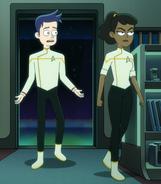 Starfleet white dress uniform, 2381