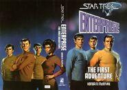 Enterprise - The First Adventure, SFBC wraparound cover