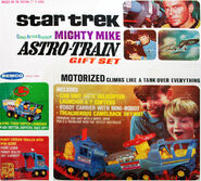 Remco Star Trek Astro-Train