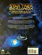 Star Trek Encyclopedia, third edition softcover back cover