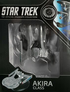 Star Trek Official Starships Collection Akira Class repack 14