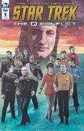 Star Trek The Q Conflict 1 cover RI B