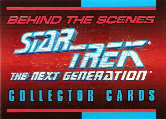 Star Trek: The Next Generation - Behind the Scenes