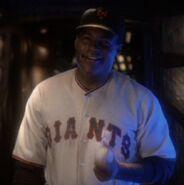 Willie Hawkins, Giants uniform