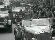 Hitler in a Mercedes-Benz