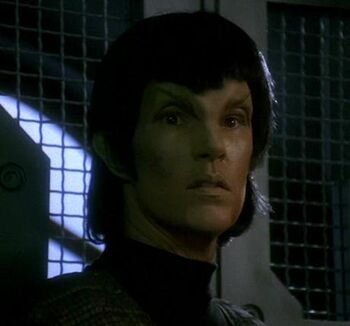 ...as the Romulan prisoner