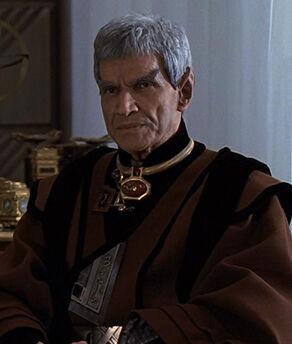 Sarek, a male Vulcan (2293)