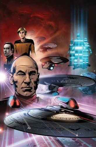 Star Trek: The Next Generation - The Space Between (omnibus)
