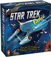 Star Trek Panic game box