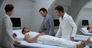 Spock in sickbay, 2270s