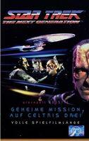 VHS-Cover TNG Geheime Mission auf Celtris Drei