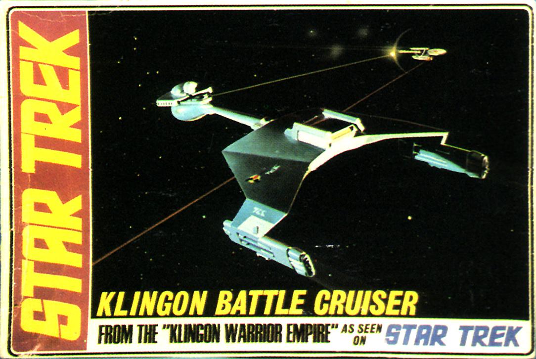 AMT Model kit S952 Klingon Battle Cruiser 1968.jpg