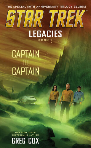 Cover of book 1, Captain to Captain