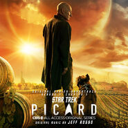 Star Trek Picard soundtrack Season 1 Chapter 1 cover