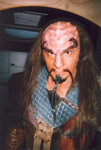 ... as a Klingon in Enterprise