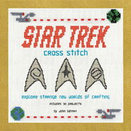 Star Trek Cross-Stitch cover