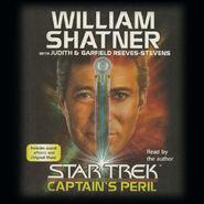 Captain's Peril audiobook cover