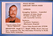 Harry Mudd police record