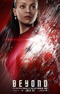 Star Trek Beyond Uhura Poster
