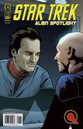 Alien Spotlight Q cover B