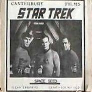 Cover TOS Space Seed, Super 8