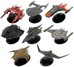 Eaglemoss Star Trek Picard starships.jpg