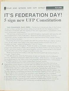 It's Federation Day!