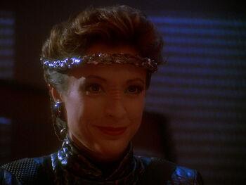 Intendant Kira Nerys in 2372
