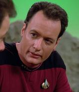 Q as starfleet commander