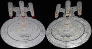 Eaglemoss Future USS Enterprise-D AGT gift premium variants