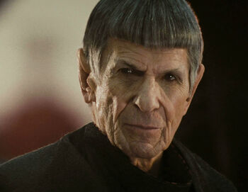 Ambassador Spock in 2258, Alternate reality