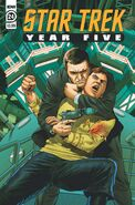 Star Trek Year Five issue 24 cover A