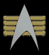 Starfleet captain insignia (Barash's illusion)