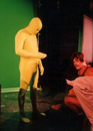 Dan Curry filming Realm of Fear