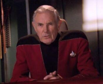 ... as Admiral Simons