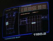 Torpedo bay display