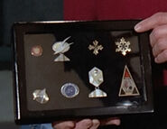 Data's medals and awards