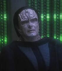 Thrax in Odo's telepathic reality