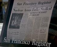 San Francisco Register, The Voyage Home