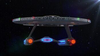 USS Cerritos in 2381