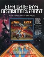 Bally Star Trek pinball ad