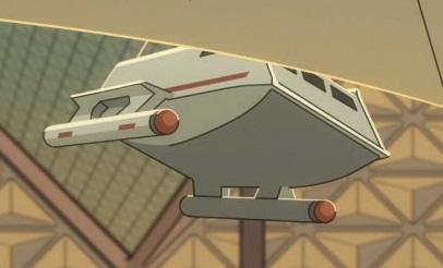 Class F shuttlecraft, Vulcan museum.jpg