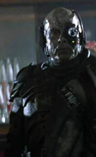 Ensign Lynch, assimilated by the Borg