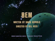 2x02 Bem title card
