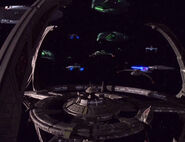 Federation Alliance starships at DS9-1