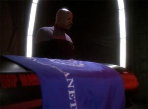 Sisko at Jadzia's coffin.jpg