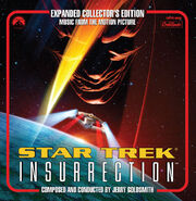 Star Trek Insurrection expanded soundtrack cover