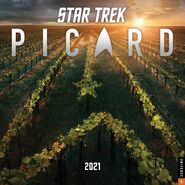Star Trek Picard Calendar 2021