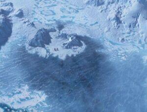 USS Voyager buried under ice.jpg