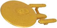 AA DST USS Enterprise-C SDCC 2019 Gold Edition